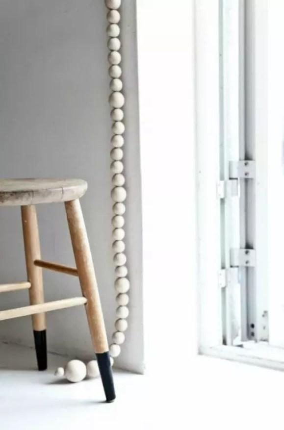 Interieur | Styling met houten kralen