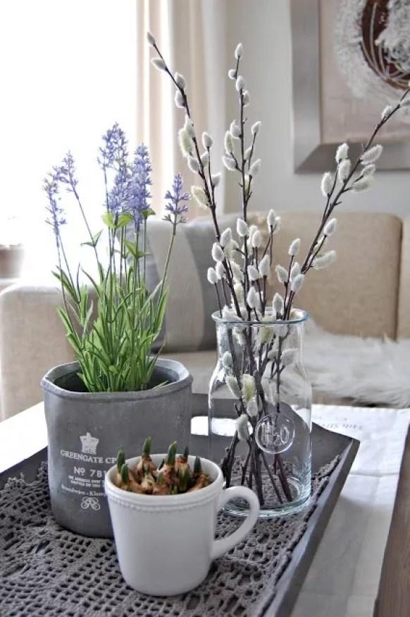 Feest styling | Pasen | Paastakken & 'paasgroen' #paastakken #pasen #feestdagen #groen #interieur #wonen #lente - www.stijlvolstyling.com