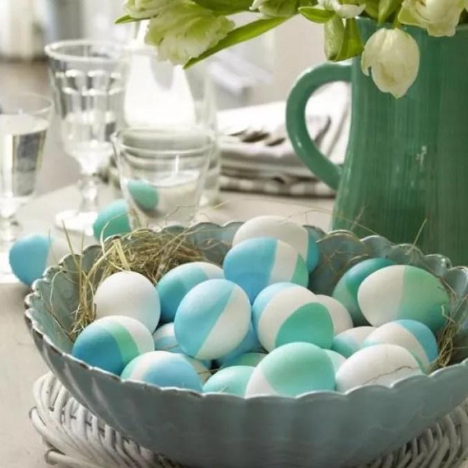 Feest styling | Pasen | Decoreren met eieren #feestdagen #idee #decoratie #pasen #woonblog