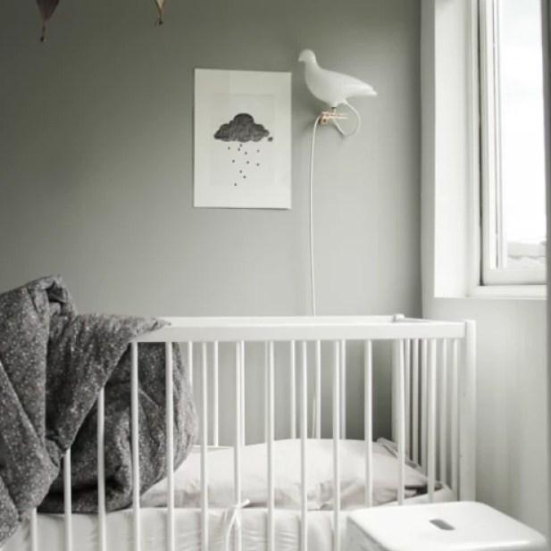 grijze ruimte voor uw baby
