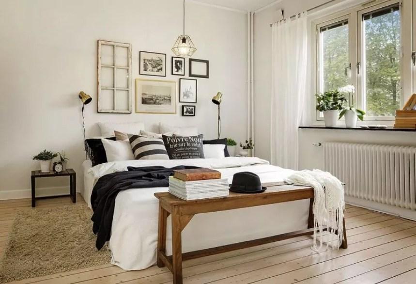 Binnenkijken   Wonen op 50m2 in dit stijlvolle appartement in Göteborg (binnenkijken stijlvol appartement)