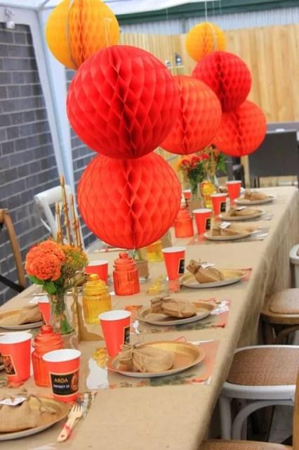 Feest Styling | WK & Oranje feest | Stijlvolle tuin feest versiering