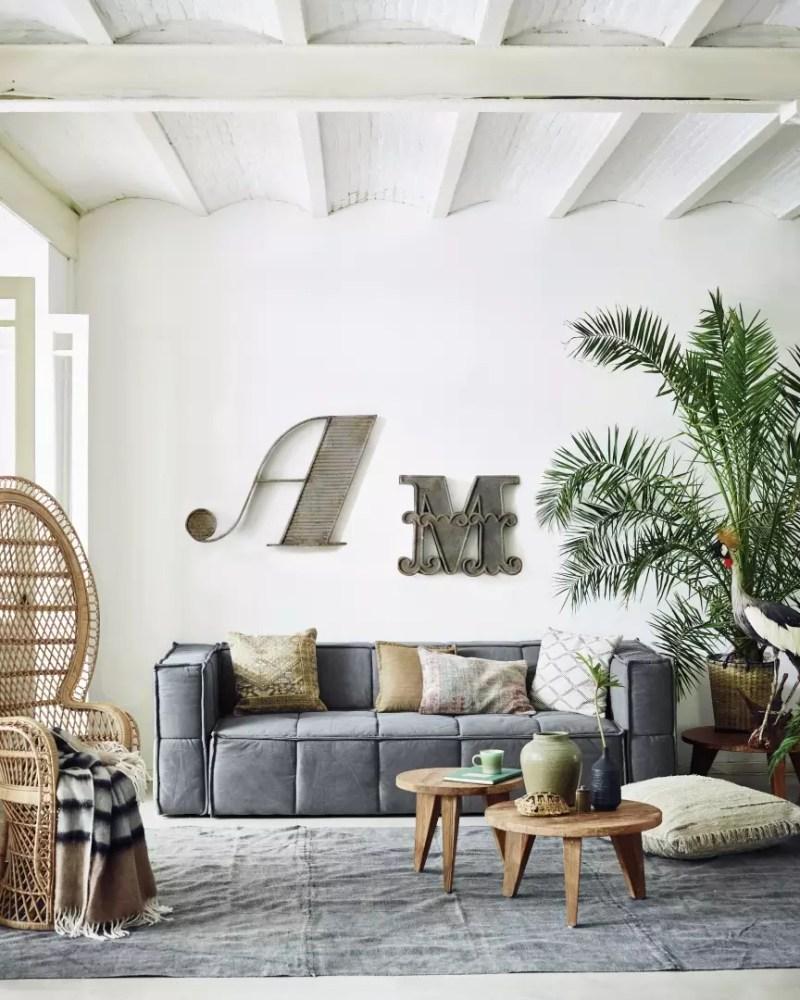Interieur inspiratie rotan stoelen stijlvol styling - Plantas de interior para salon ...