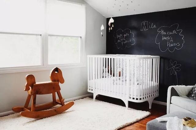 Zwart Witte Kinderkamers : Interieur kids zwart wit babykamer en kinderkamer u stijlvol