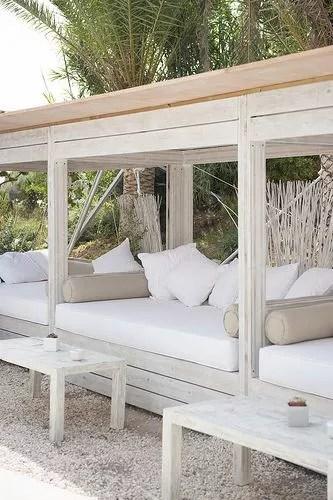 Tuin inspiratie | Tuin inrichten in Ibiza stijl