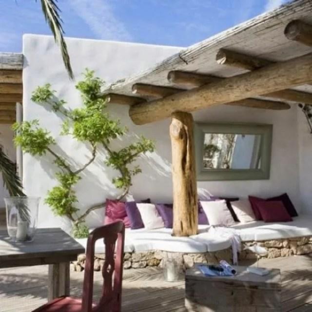 Tuin inspiratie tuin inrichten in ibiza stijl stijlvol styling woonblog - Tuin interieur design ...