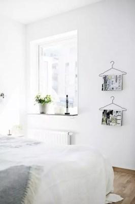 Via NordicDays.nl | Grey and White in Sweden | Scandinavian #masterbedrooms #ideas