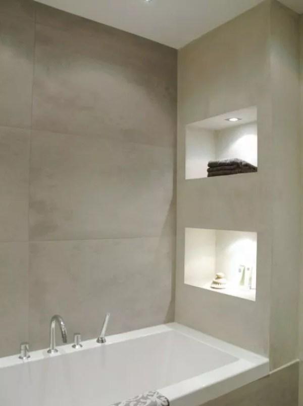interieur | nis in de muur • stijlvol styling - woonblog, Badkamer