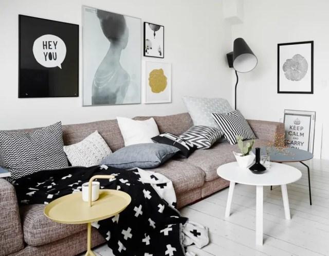 Binnenkijken | Zweeds appartement volgens de laatste woontrends 2014 - #woonblog www.stijlvolstyling.com