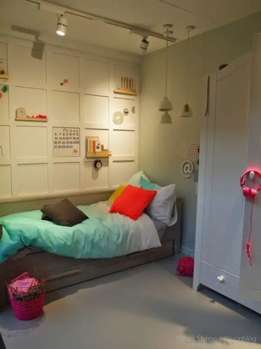 Interieur & kids | Baby en kinderkamer trends 2014 - 2015 gezien op de Woonbeurs - www.stijlvolstyling.com