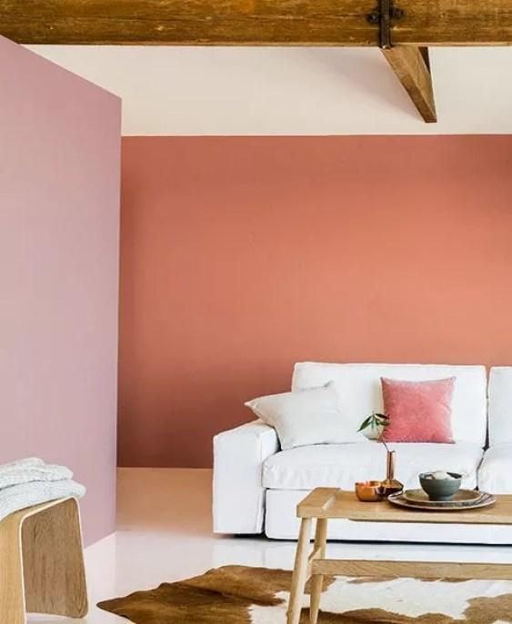 Kleur interieur woontrend 2015 copper orange kleur for Kleur interieur