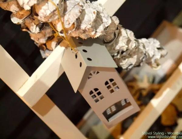 kerst, kerstboom, alternatief kerstboom, decoratie ladder, wonen, interieur, kerstdecoratie