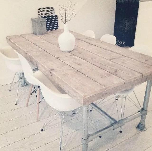 Interieur eigentijds wonen met steigerhout meubels stijlvol styling woonblog - Kleur gevel eigentijds huis ...