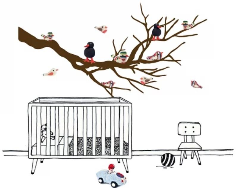Interieur & kids   De leukste muurstickers voor de babykamer - #woonblog Stijlvol Styling www.stijlvolstyling.com