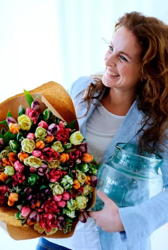 3x anders geschikt - tulpen - Stijlvol Styling Woonblog www.stijlvolstyling.com
