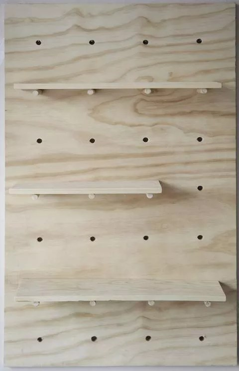 DIY | Decoreren met houten planken - Stijlvol Styling woonblog www.stijlvolstyling.com