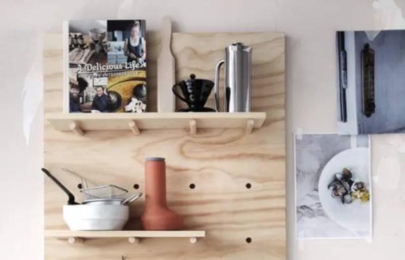 Diy Planken Inrichten : Diy maak zelf een gaatjes bord met houten planken u stijlvol