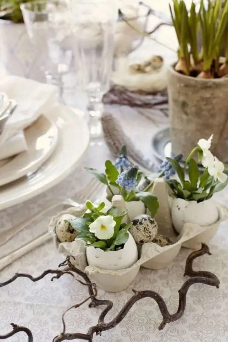 Feestdagen rustieke paas decoratie stijlvol styling woonblog - Rustieke eetkamer decoratie ...