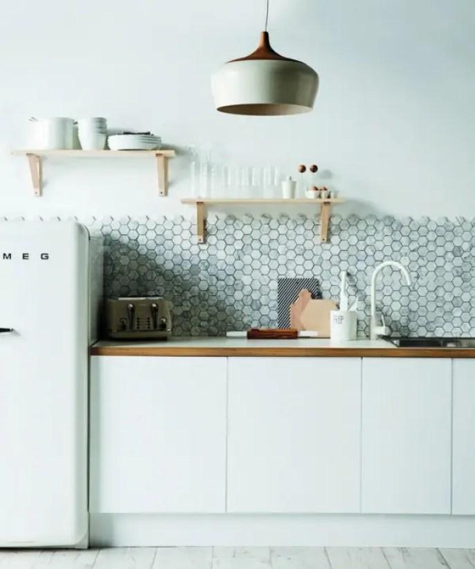 Interieur inspiratie | Mintgroen in de keuken - Stijlvol Styling www.stijlvolstyling.com
