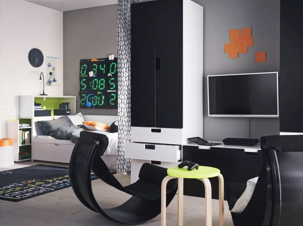 Spiksplinternieuw Interieur & kids | Nieuw schooljaar, nieuwe IKEA kinderkamer QK-58