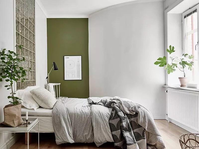 Slaapkamer Groen Grijs ~ Referenties op Huis Ontwerp, Interieur ...