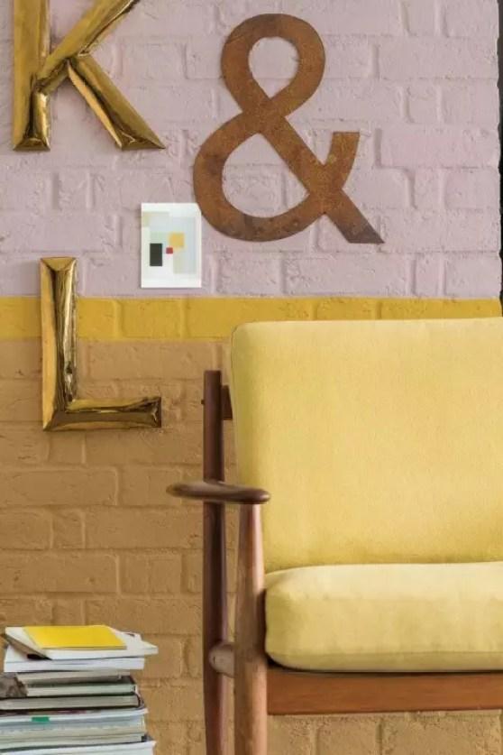 Woontrends 2016 | OkerGoud = kleur van het jaar 2016 - Woonblog StijlvolStyling.com (beeld: Flexa)