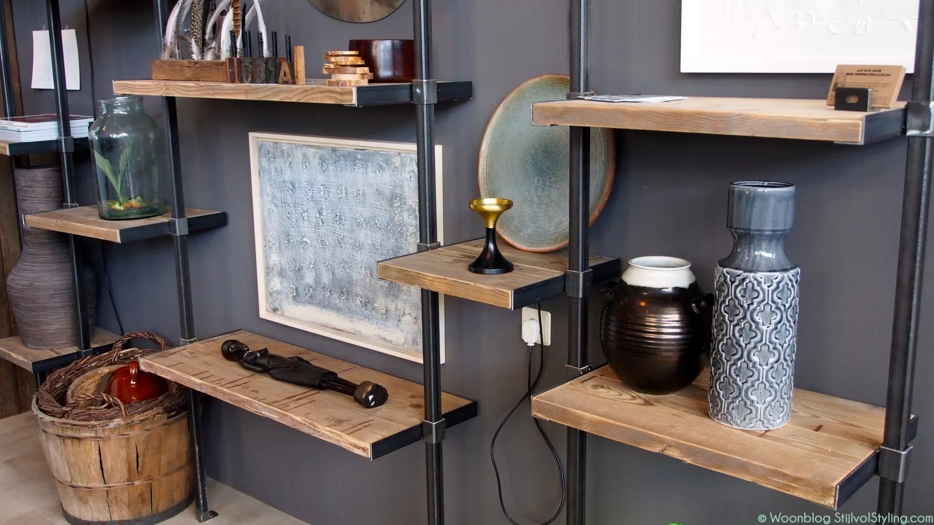 Interieur wandplank decoratie en styling tips stijlvol for Decoratie interieur