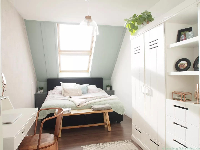 interieur slaapkamer op zolder � stijlvol styling