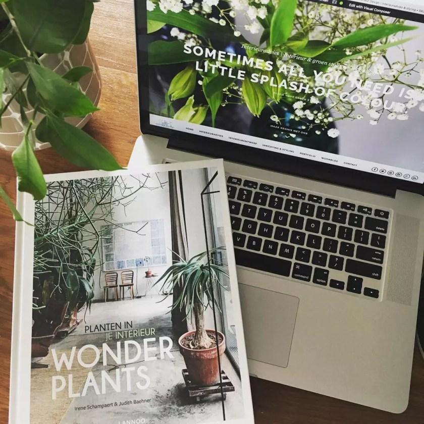 Review | Wonderplants - boek vol liefde voor groen in huis - Woonblog StijlvolStyling.com