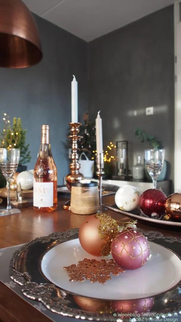 feestdagen chique feesttafel voor kerst of oud nieuw stijlvol styling woonblog voel je thuis