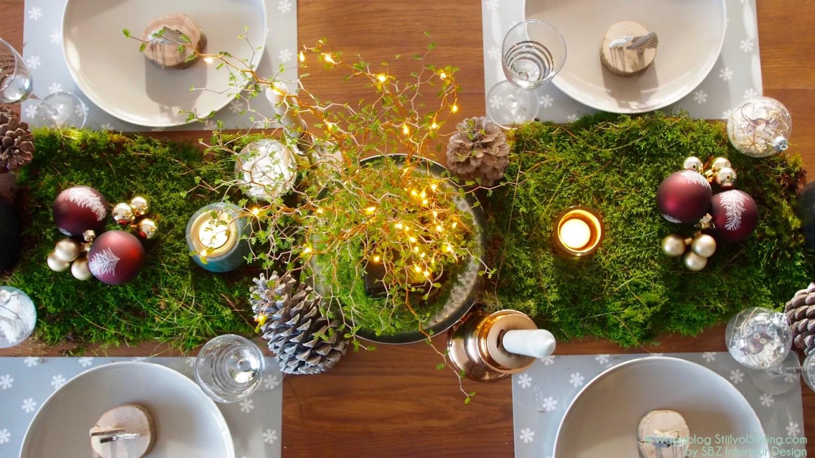 Woonblog StijlvolStyling.com | DIY Kersttafel dekken en kerst inspiratie