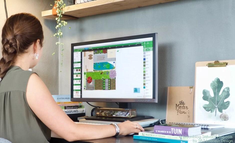Tuin inspiratie | Zelf je tuin ontwerpen - Woonblog StijlvolStyling.com