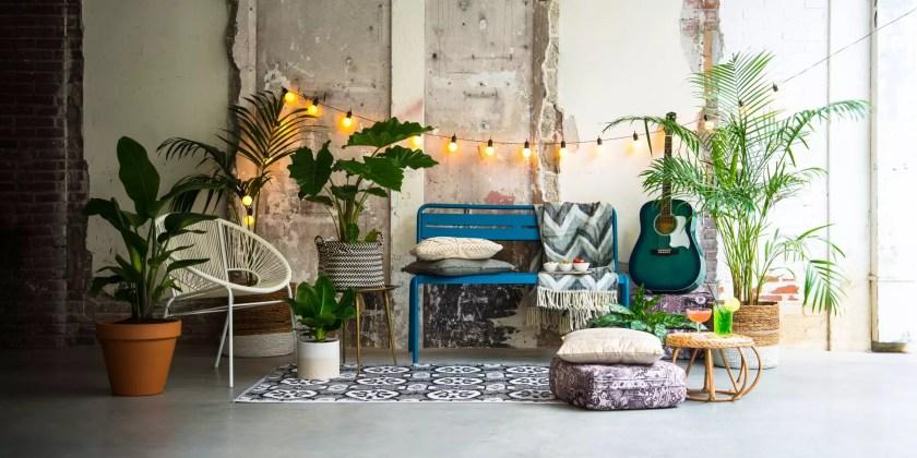 Tuin inspiratie | Tuintrend Bohemien & Urban Gypsy - Woonblog StijlvolStyling.com