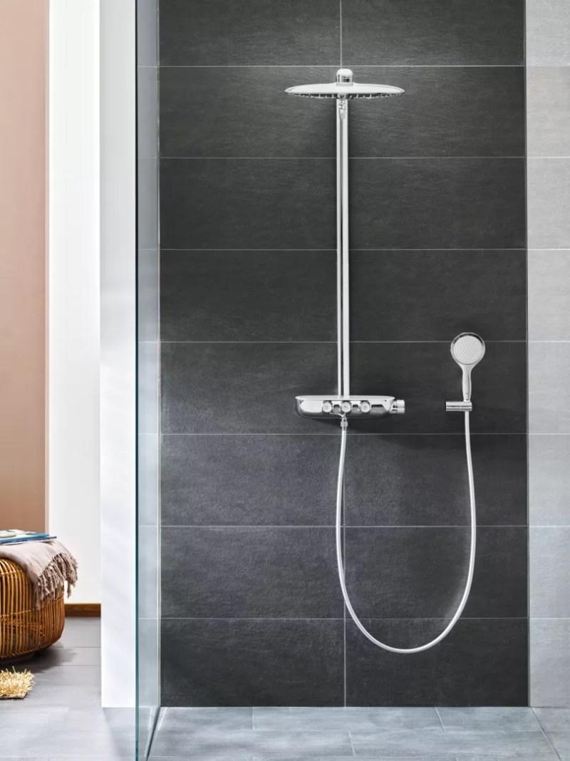Interieur inspiratie | Een regendouche in de badkamer - Woonblog StijlvolStyling.com