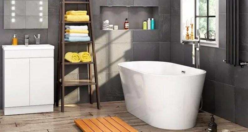 Interieur inspiratie | Betaalbare luxe baden voor de badkamer ...