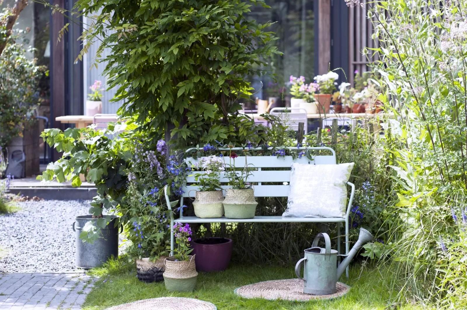 Tuin inspiratie | Zomerboeket uit eigen tuin - Woonblog StijlvolStyling.com