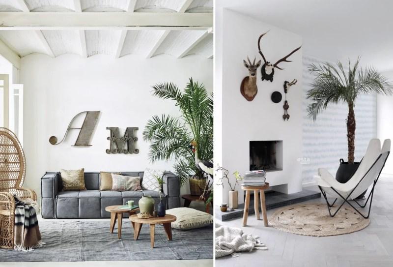 Interieur inspiratie | Scandinavisch bohemian - Woonblog StijlvolStyling.com by SBZ Interieur Design (beeld hkliving & estahome)