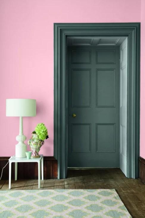 Woonnieuws | Little Greene kleur roze voor Pink Ribbon - kleuren: 9. Confetti 274, Livid 263 & Gauze - Dark 166