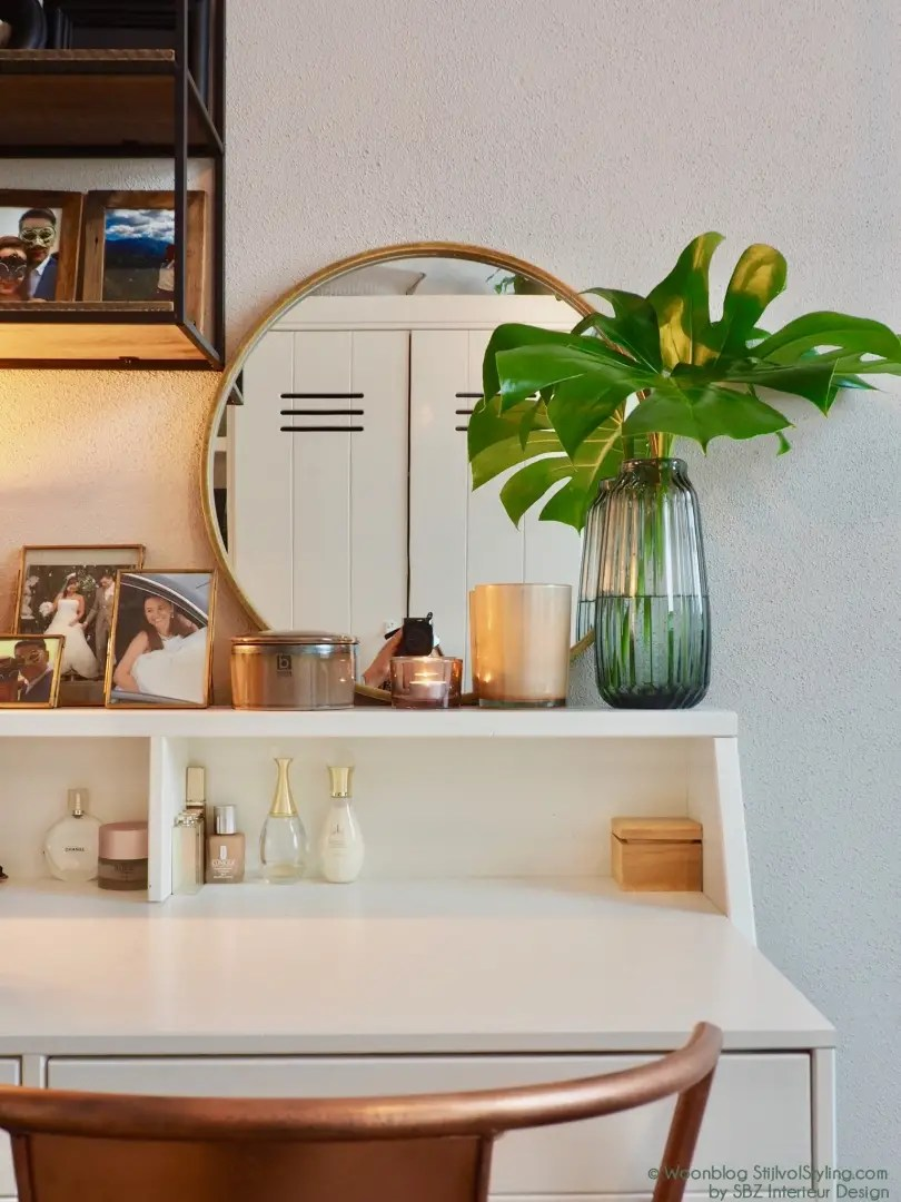 Interieur kaptafel styling inspiratie stijlvol styling for Interieur styling tips