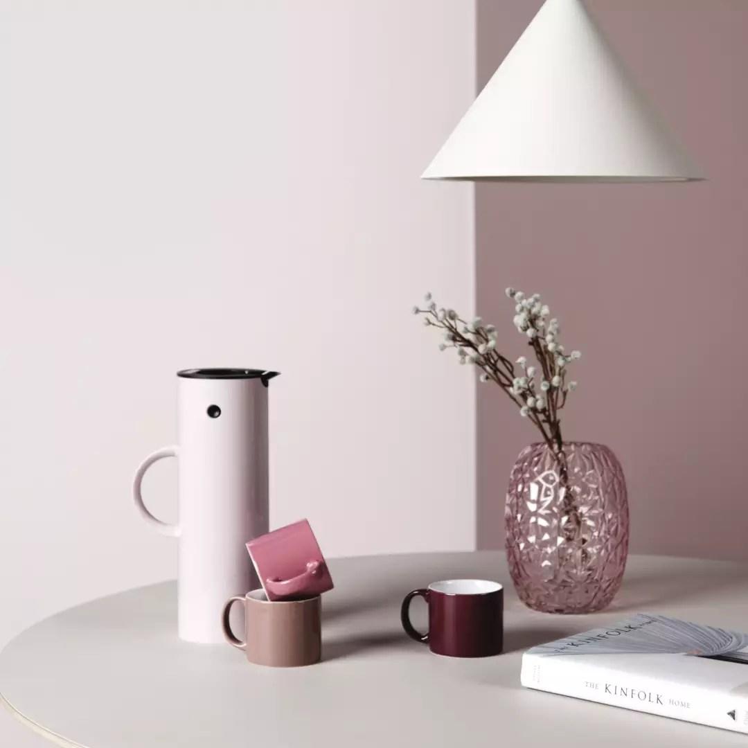 Woontrends 2018 | Kleurtrends - Ben jij team roze of team blauw? - Woonblog StijlvolStyling.com (beeld: Fonq)