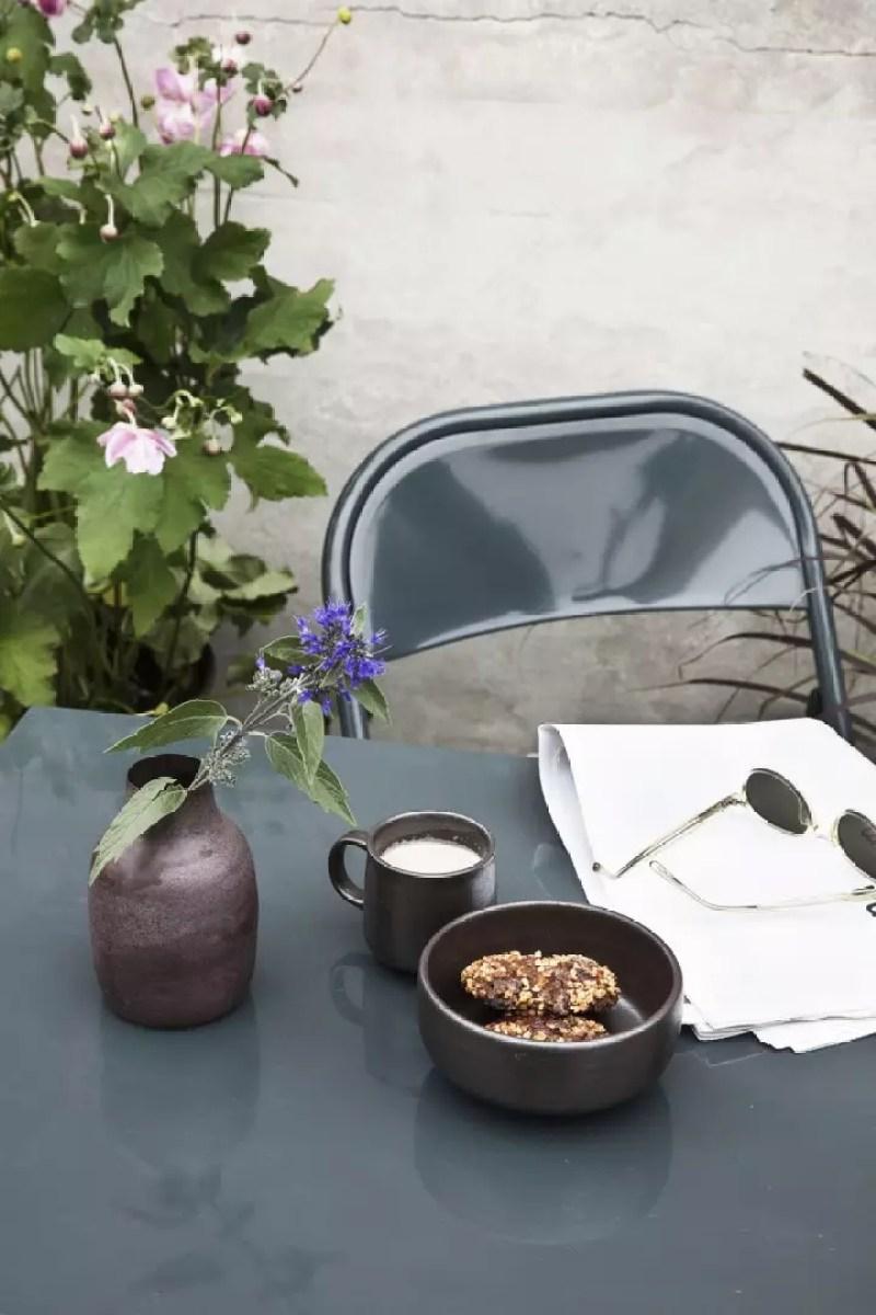 Balkon inspiratie | 25x inspiratie - Klein balkon inrichten // Lifestyle- & woonblog StijlvolStyling.com by SBZ Interieur Design (photo: House Doctor)