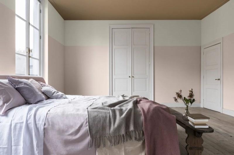 Woontrends 2019   Dream-palet, dromerige kleuren, wit wonen en aaibare combinaties   Woonblog StijlvolStyling.com by SBZ Interieur Design Photo: Dulux-Colour-Futures-Colour-of-the-Year-2019-A-place-to-dream-Bedroom-Inspiration-Global-BC-77B-P