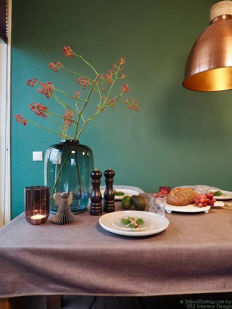 Kerstafel en kerst decoratie Stijlvol Styling by SBZ Interieur Design © StijlvolStyling.com - sbzinterieurdesign.nl