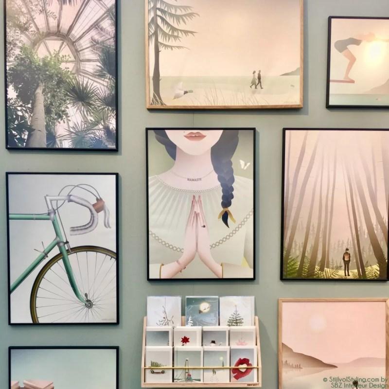 Interieur - Zo hang je kunst op een stijlvolle manier op - StijlvolStyling.com by Susanne - SBZ Interieur Design © StijlvolStyling.com - sbzinterieurdesign.nl