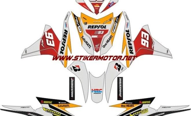 striping motor HONDA VARIO FI REPSOL
