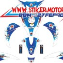 striping motor Mio J doraemon 2