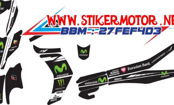 striping motor new jupiter z movistar hitam