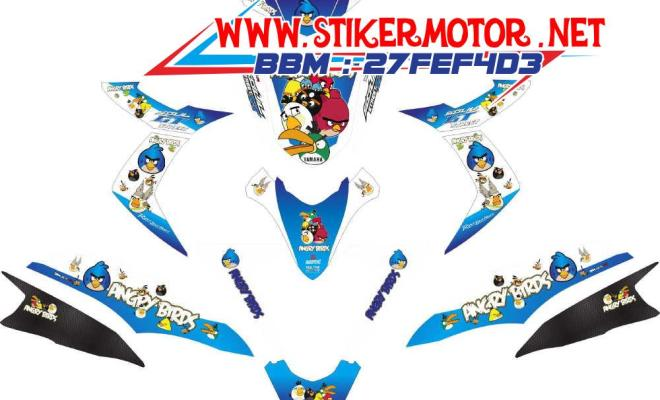 striping motor Soul GT angry bird BLUE
