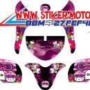 striping motor scoopy hello kity fb