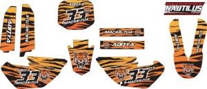 STICKER STRIPING DECAL MOTOR yz 85 tiger loreng